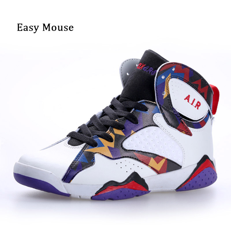 Fast Ship Men Basketball Jordan Shoes Couple Zapatillas Deportivas Hombre Basketball Sneakers Sports Ankle Boots Trainer Shoes jordans shoes all black