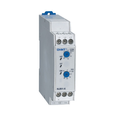 three phase AC Voltage Monitoring Relay phase sequence, phase failure and phase unbalance protection elements