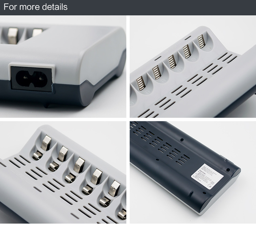 HIPERDEAL 8 Slots Charger AA / AAA Ni-MH / Ni-Cd Batteries Rechargeable Battery AU Plug Dropship 171020