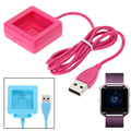 USB Charger Cable Convenient for travelers and business users Battery fast Charging Dock For Fitbit Blaze Smart Watch