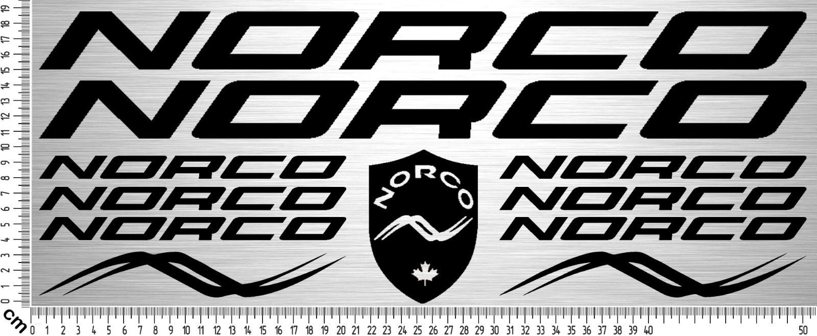 For 11x NORCO BIKES Sticker Set | Fahrrad Rahmen Aufkleber | Bike ...