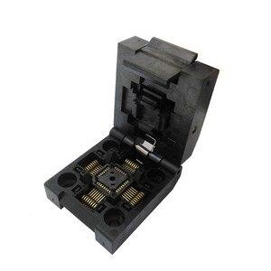 Image 5 - QFP32 TQFP32 LQFP32 раскладушка штырьковый шаг 0,8 мм сгорание в розетке стандартная тестовая розетка программатор адаптер конверсионный блок