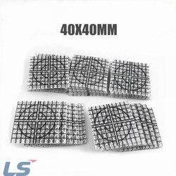 100 шт. отражающая пластина размером 40x40 мм, светоотражающая целевая сетка (можно подобрать на заказ)