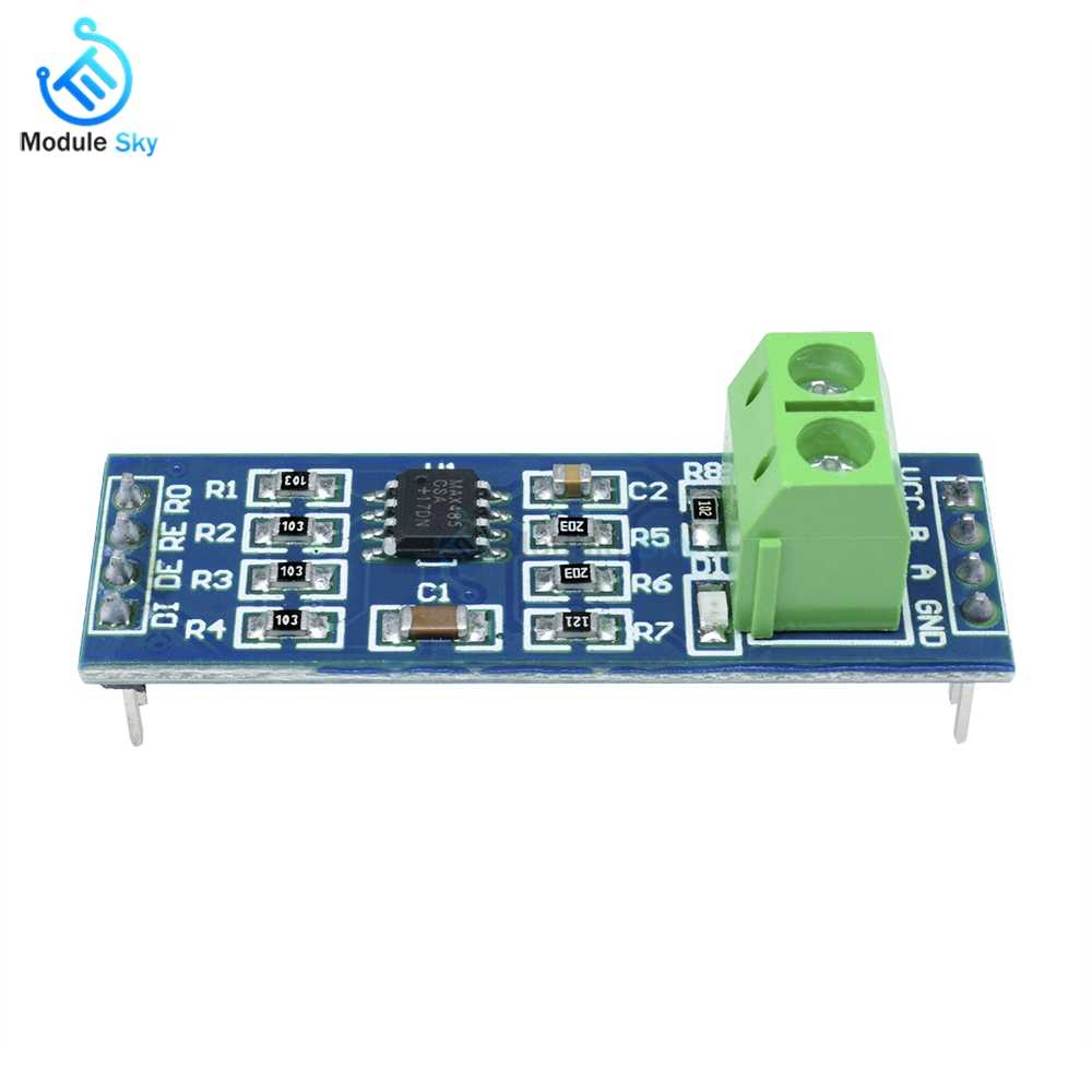 Max458 TTL To RS485 Module For Arduino RS485 RS-485 Communication Transceiver Module 5V