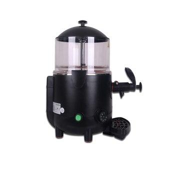 дозатор горячего шоколада | ITOP 5L горячий диспенсер для шоколада, машина для шоколада, коммерческий диспенсер, идеально подходит для кафе, вечерние, черно-белые цвета