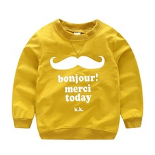 New Baby r Chic Cute Style Letter Print Long Sleeve Cotton O-Neck Warm Casual Sweater