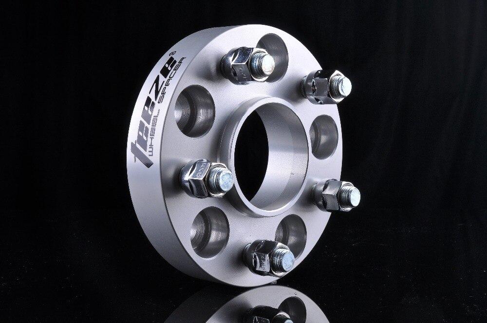 1 PC entretoises de roue de LR Discovery 3/Discovery 4 adaptateur de roue en alliage d'aluminium 5 trous PCD 120mm alésage central 72.56mm - 6