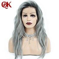 Queenking волос 1b серый Ombre Человеческие волосы парик с ребенком волос предварительно сорвал полный Кружево парик бразильский Волосы Remy