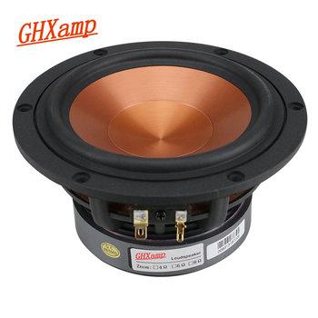 GHXAMP 5 25 cala średni głośnik basowy głośnik średniotonowy głośnik niskotonowy ceramika na bazie tlenku glinu 8Ohm 40W kino domowe Hifi 1PC tanie i dobre opinie Bluetooth Bookshelf Metal Dwukierunkowa 2 (2 0) Brak None Inne Other 5 25 inch MID-Bass Speaker Unit 5 25 inch Mid Bass Speaker Unit