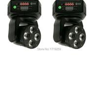 2pcs Lot Mini LED Wash Moving Head 4x18W RGBWA UV DMX Stage Lights Business High Power