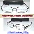 Óculos de leitura de liga de titânio de aro preto + 0.5 + 0.75 + 1.25 + 1.75 + 2.25 + 2.75 + 3.25 + 3.75 + 4.25 + 6.0