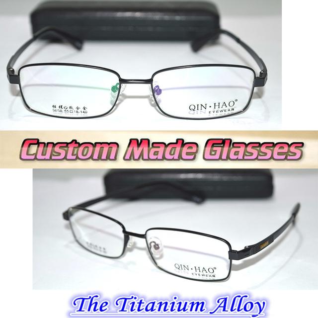 Por encargo gafas de lectura Mg al aleación de titanio semi borde negro + 0.5 + 0.75 + 1.25 + 1.75 + 2.25 + 2.75 + 3.25 + 3.75 + 4.25 + 6.0