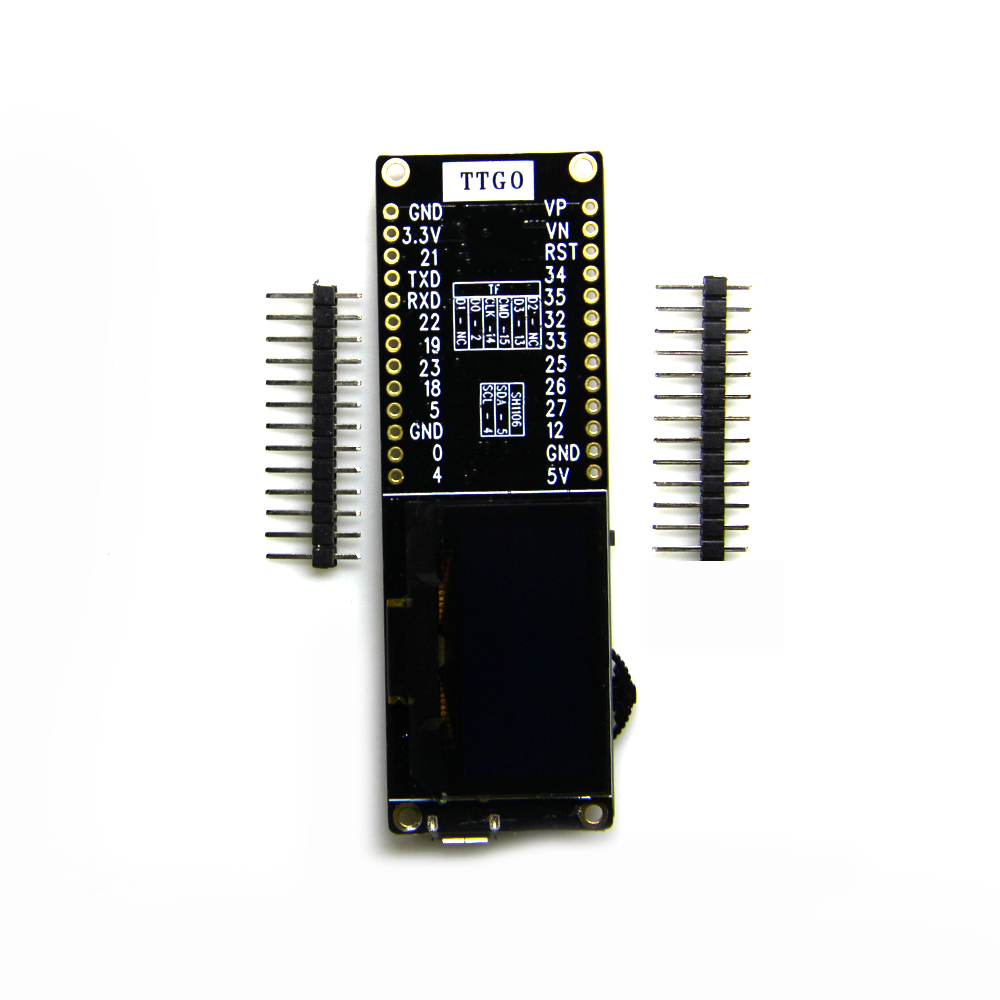 TTGO T-Eight Esp32 SH1106 1.3 inch OLED display IPEX 3D antenna 4MB SPI Flash 4MB Psram