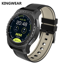 Kingwear Smart watch Heat Rate Monitor KW28 Full Round MTK2502 Smartwatch For Apple watch xiaomi Android Samsung Gear 3 KW99 88