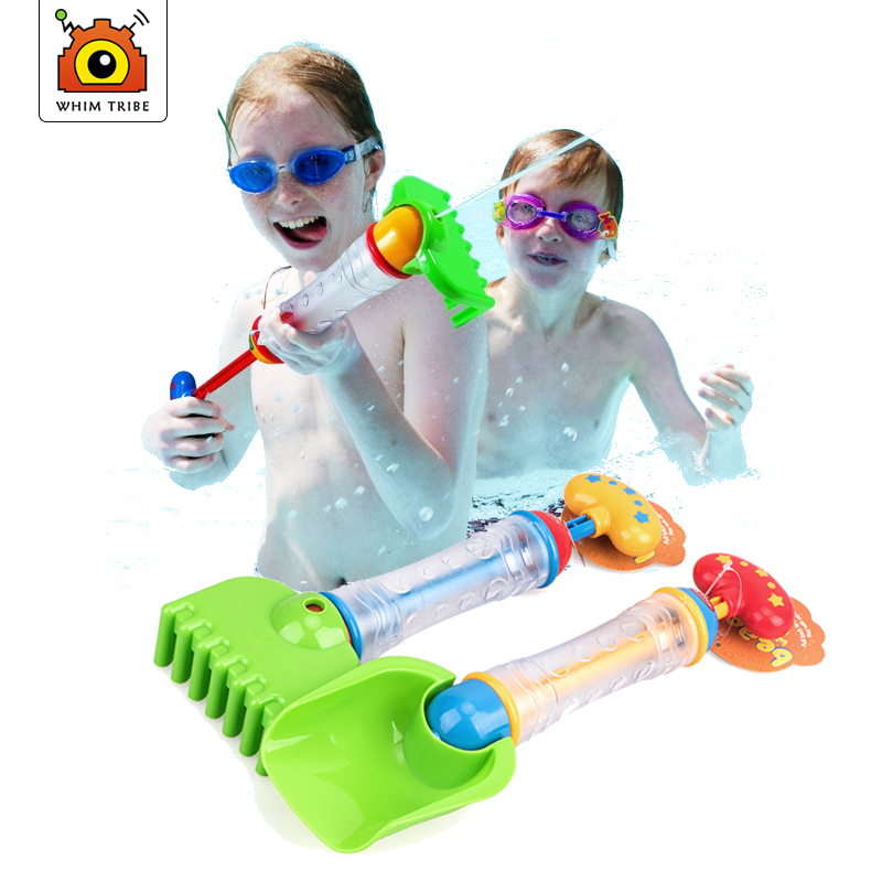 Kids Beach Toys  Sand ToysMulti-purpose Squirt Gun For Beach Children Dig Sand Shovel Rake Baby Water Toy  Unique Toys For Kids