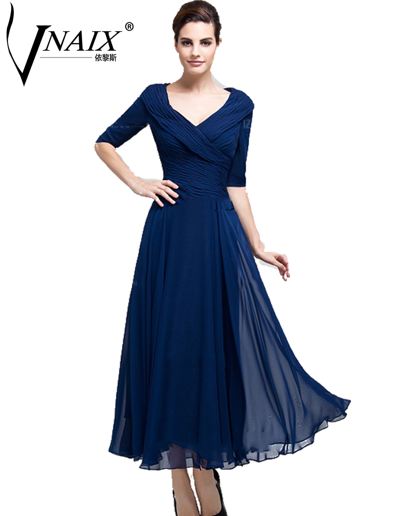 Mbd012 Chiffon Mother Of The Bride Groom Dresses With Half