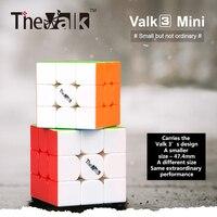 Brand New Qiyi Mofangge Mini Valk3 3x3x3 Speed Cube 4 74cm Magic Cube Puzle For WCA