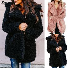 Faux Fur Coat Winter Women 2018 New Fashion European And American Style Autumn Imitation Womens Fashionable