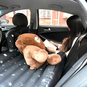 Image 5 - 車のエアマットレス旅行ベッド分割ボディクッション屋外スポーツの子供パッドインフレータブルカーベッド後部座席用エアベッドベビー子供新しい