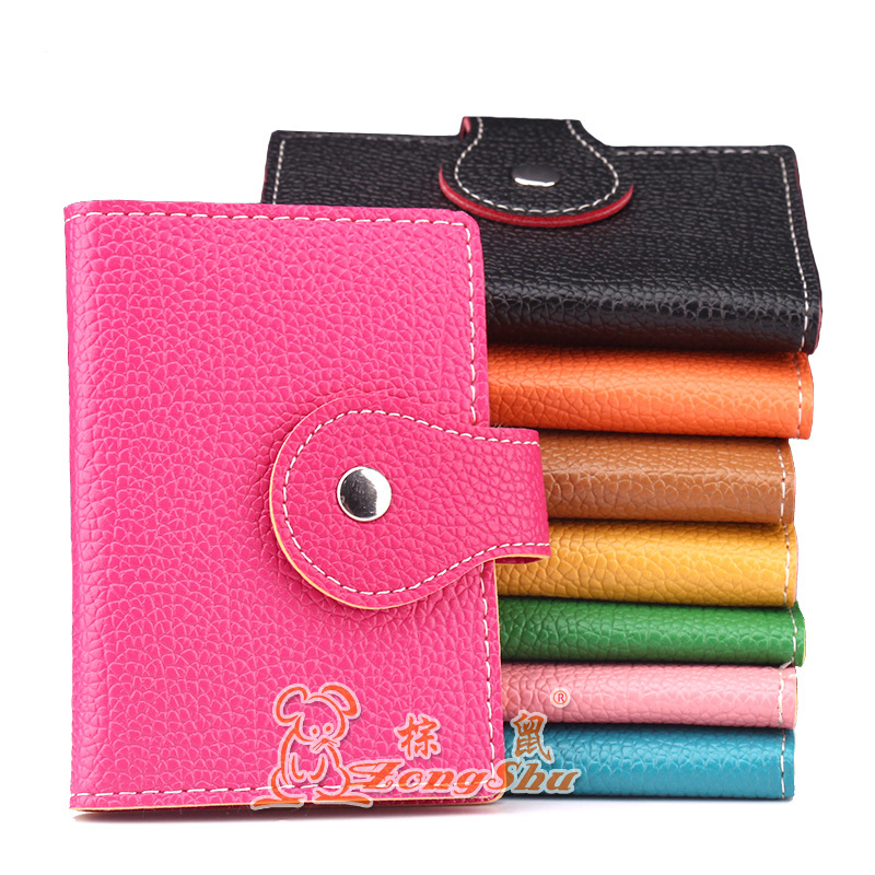 Zongshu New candy color card package double buckle cover bags ...