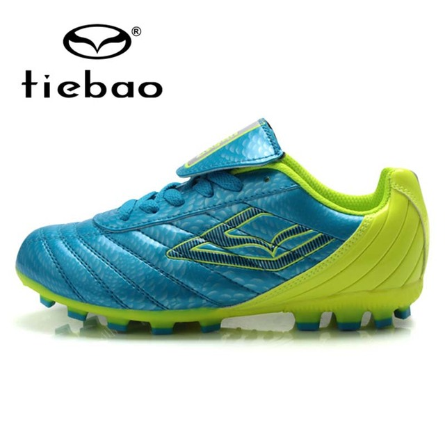 TIEBAO Professional Outdoor Soccer Shoes Children Kids H & A Sole Kids' Sneakers Teenagers Breathable Training Football Cleats