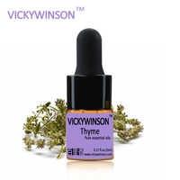 VICKYWINSON Thyme essential oil 5ml sterilization Relax skin acne Dandruff WD5