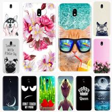 Phone Case For Samsung Galaxy J3 J4 J5 J6 J7 2016 2017 Soft Silicone New Cute Painted Back Cover For Samsung J2 J5 J7 Prime Case все цены