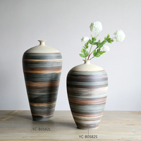Fancy Ceramic Vase Decorative Flower Vases for Home Decor Chinese 2015 High Quality Floor Vases On Discount