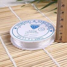 Прочный Хрустальный эластичный шнур для бисероплетения для DIY ожерелья Браслет для изготовления ювелирных изделий