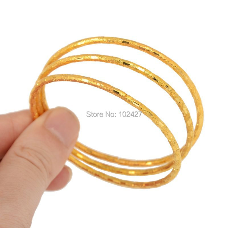NEW 3/4/6Pcs 1 Set Simple Design Bangle Fashion Jewelry Children ...