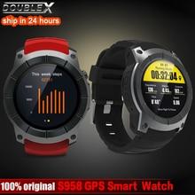 Купить с кэшбэком DoubleX Bluetooth S958 GPS Multi-function Sport Watch MTK2503 Heart Rate Monitor Fitness Tracker Smart Watch support Sim card