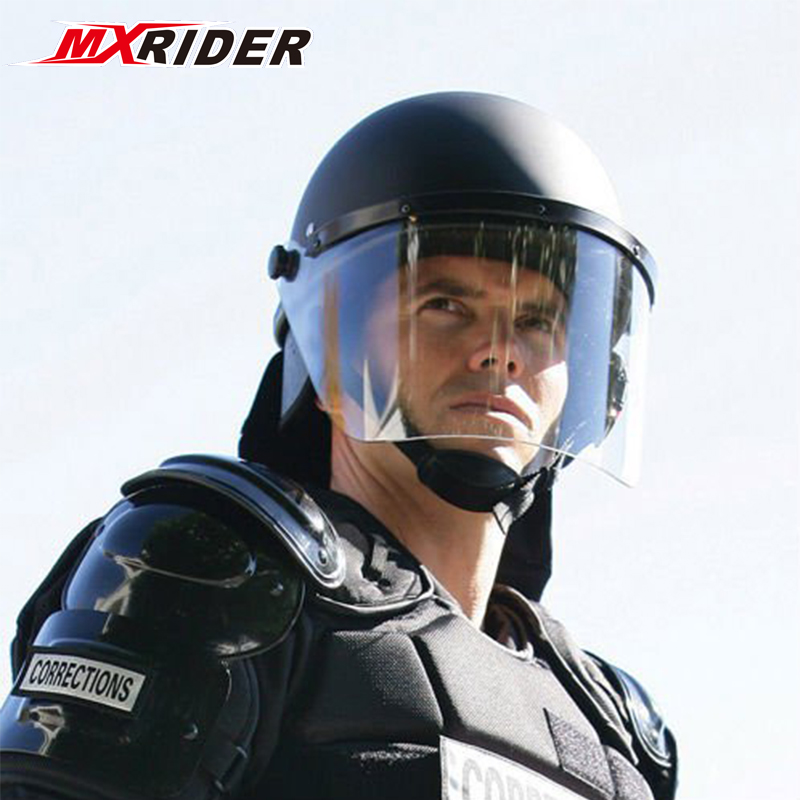 Professional High Quality Police Anti Riot Helmet Usa type for sale
