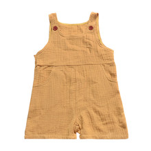 Toddler Clothes Baby Onesies Body Newborn Boy Girl Overall Fashion Jumpsuit Summer Cotton Casual Romper One-Piece(China)
