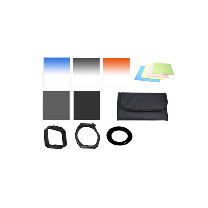 Neutral Grey Gradual Color Optical Light Filter Colored Light Filters Suite For 72mm Camera