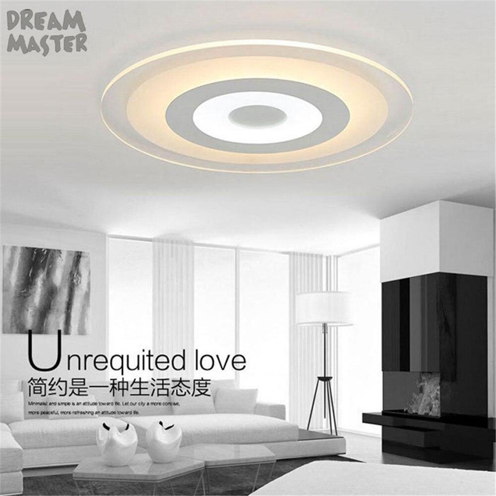 US $17.99 10% OFF|Acryl Moderne Led Kronleuchter Lichter Für Wohnzimmer  Schlafzimmer kreis Innen Decke Kronleuchter Lampe led lustre Leuchten-in ...