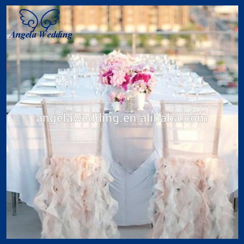ivory sofa cover de sede klassiker ch005e popular cheap wedding ruffled curly willow blush ...