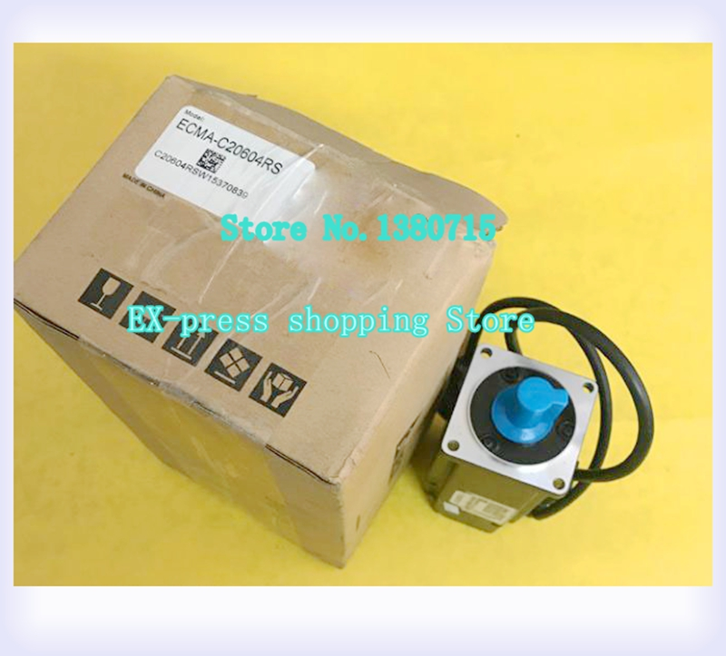 New Original ECMA C20604RS AC Servo Motor 220V 400W 1 27NM 3000rpm Oil Seal