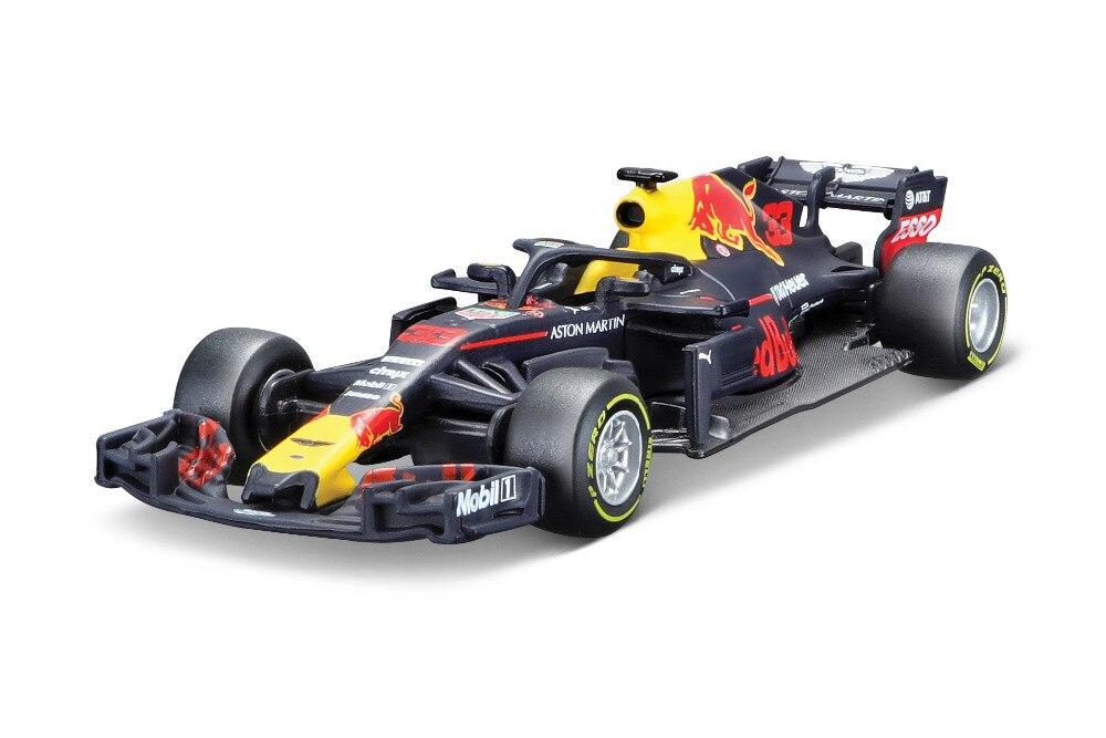 Bburago 1:43 2018 red bull rb14 modelo de carro de corrida #33 novo na caixa