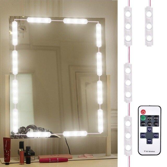 Makeup Mirror Lights Dimmable 60leds Led Vanity Light Kits