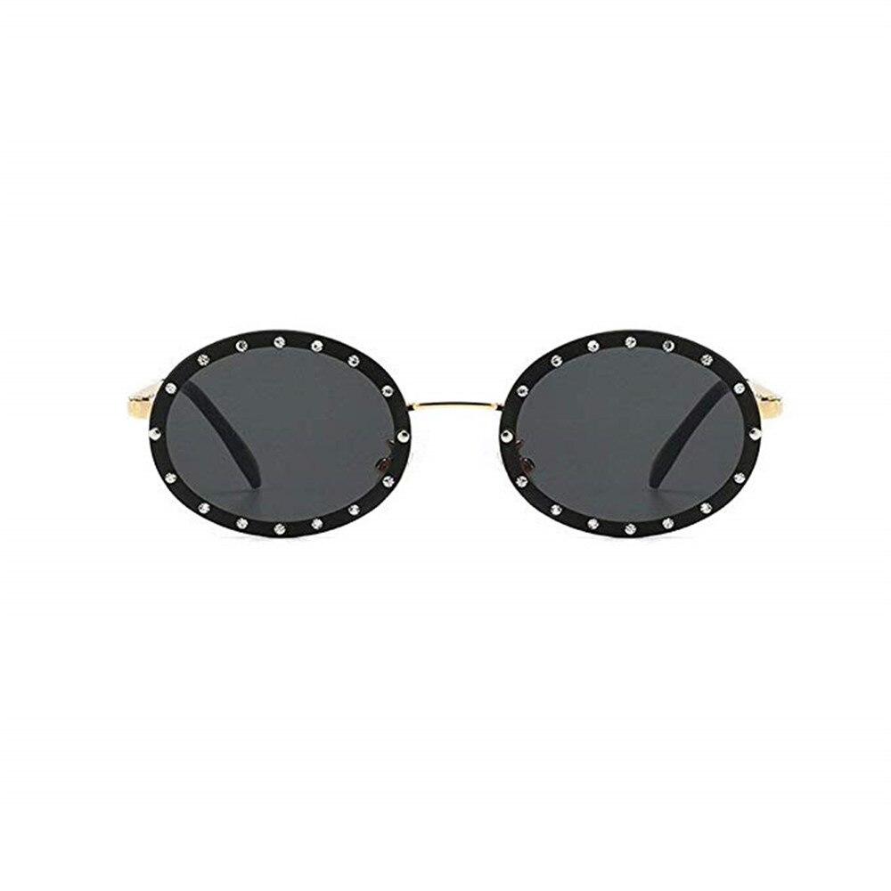 Luxury Crystal Oversize Round Sunglasses Women Brand Designer BlingBling Fashion Clear Pink Yellow Sun Glasses Men FML