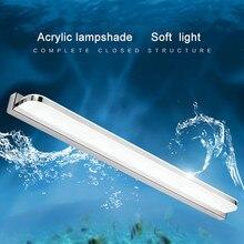 אמבטיה גוף תאורה LED מראה אור 42 72cm 9W 16W AC110 240V עמיד למים מודרני קוסמטי אקריליק מנורת קיר