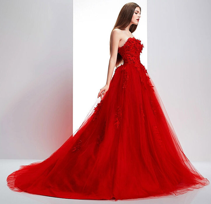 Online Get Cheap White with Red Ball Gown -Aliexpress.com ...