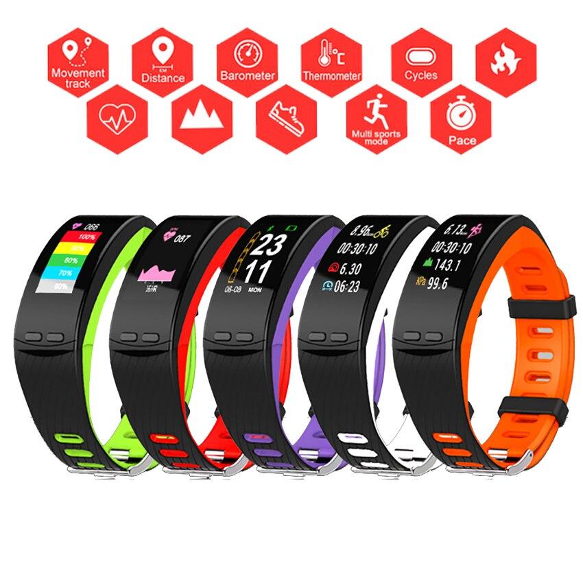 Цвет gps Run/цикл Смарт часы браслет Спорт для мужчин/для женщин здоровья Montre подключения для Apple/Xiaomi/sony PK Fitbits/Smartwatch 3