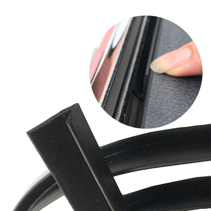 4M Windows Edge Weatherstrip Repair Strip V Rubber Sealed Strips Trim Fastening Glass To Prevent Abnormal Noise