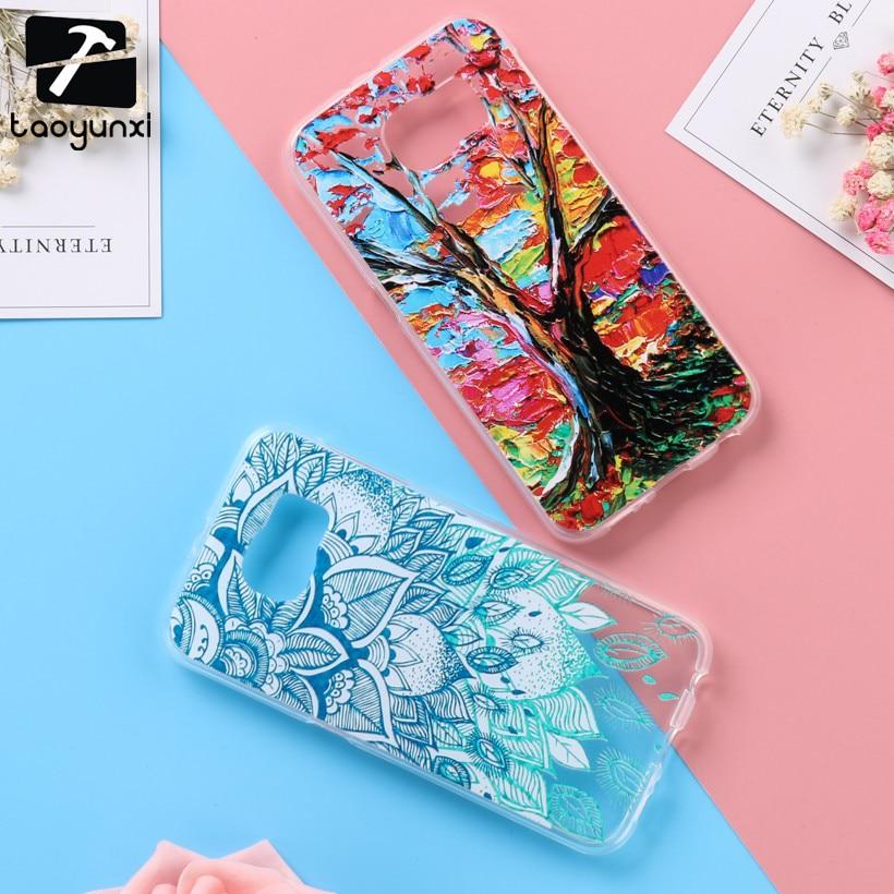 TAOYUNXI силиконовые чехлы для samsung Galaxy S6 SVI G920F G920FD G920FQ G920I G920A G920T G920S/K G9200 G9208 G9208 /СС крышка ...