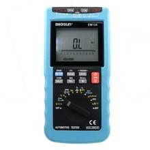 All-dom EM135 Moderno Multímetro Digital Para vehículos ACA 20A/DCA Autorange LCD Probador de Automoción O2-sensor De Lectura de Temperatura RPM Ángulo de cierre