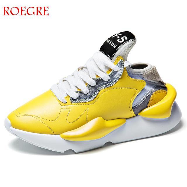 2018 בציר סתיו נעלי יוניסקס סופר מגניב גובה להגדיל כוכב אור לנשימה גברים נעליים יומיומיות גברים סניקרס Zapatos Hombre
