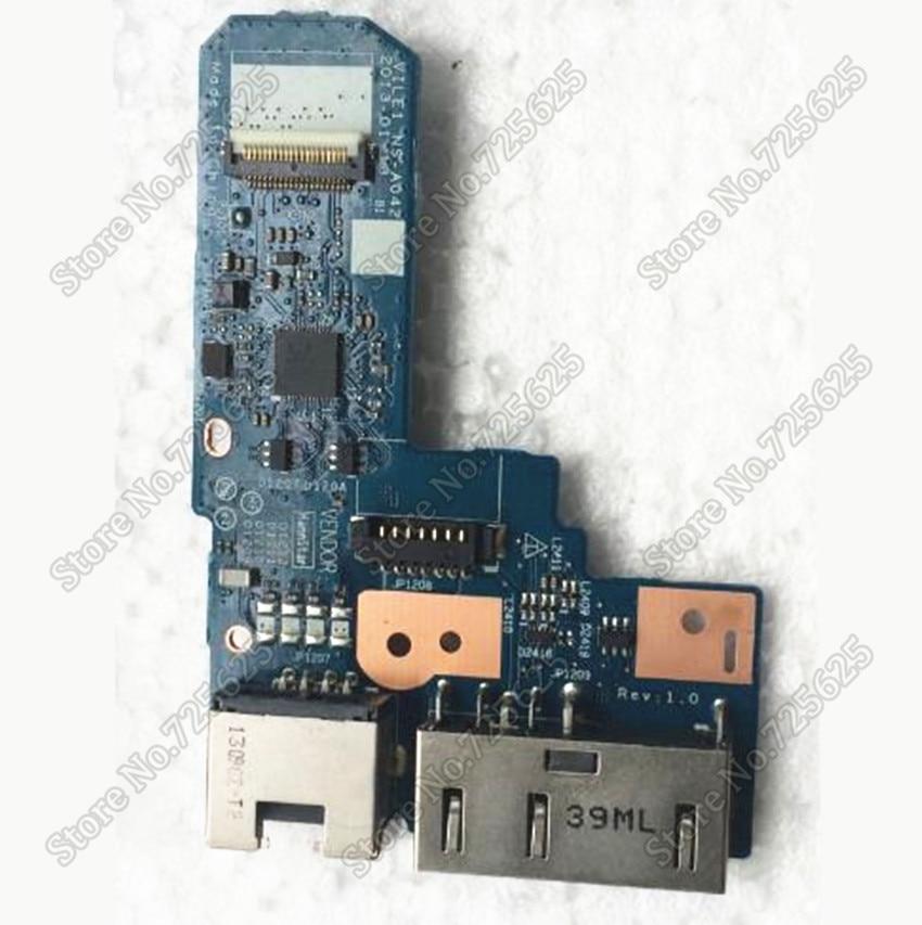 DC Jack Port Lan port Board for Lenovo IBM Thinkpad E431