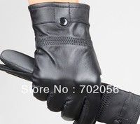 Just Arrival Mens Real Leather Gloves Leather GLOVE Gift Accessory High Quality 12pair Lot 3160