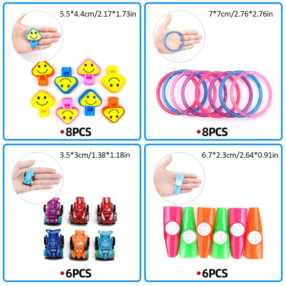 108PCS Kids Birthday Party Favor Toy Assortment School Classroom Rewards Carnival Prizes Pinata Fillers Easter Egg Stuffers in Color Shape from Toys Hobbies